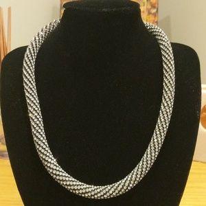 Express 18' crystal studded necklace nwot